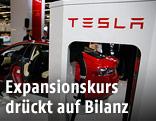 Ein Tesla Model S