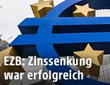 Euro-Zeichen vor der EZB