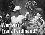 Franz Ferdinand und Sophie Chotek in Sarajewo