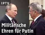 Russlands Präsident Putin und Österreichs Präsident Fischer