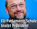 Der Präsident des EU-Parlaments, Martin Schulz