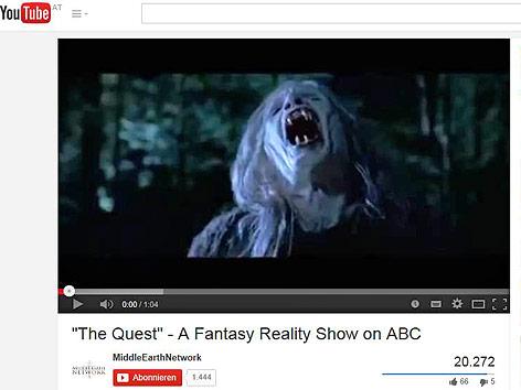 """Ausschnitt aus dem Trailer zu """"The Quest"""""""