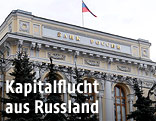 Außenaufnahme der russischen Zentralbank in Moskau