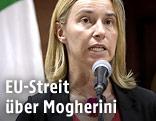 Italiens Außenministerin Federica Mogherini