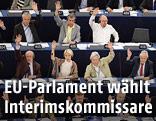 Mitglieder des EU-Parlaments bei einer Abstimmung
