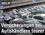Autos beim Händler