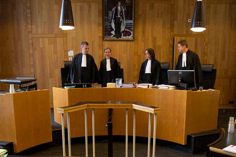 Richter im Srebrenica-Prozess