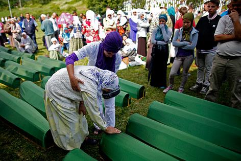 Srebrenica-Gedenkfeier