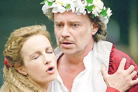 Gert Voss und Maddalena Crippa