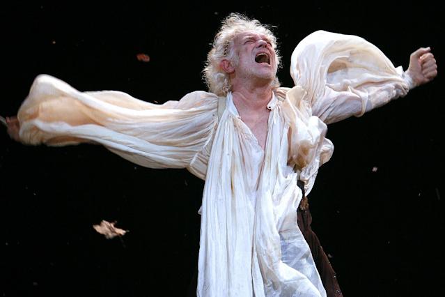 """Gert Voss in """"König Lear"""""""