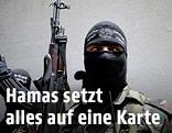 Kämpfer in Gaza