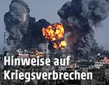 Explosion in Gaza Stadt