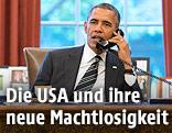 US-Präsident Barack Obama telefoniert