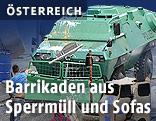 Panzer und Hausbesetzer