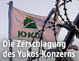 Yukos-Flagge