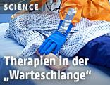 Ebola-Patient iM Krankenbett