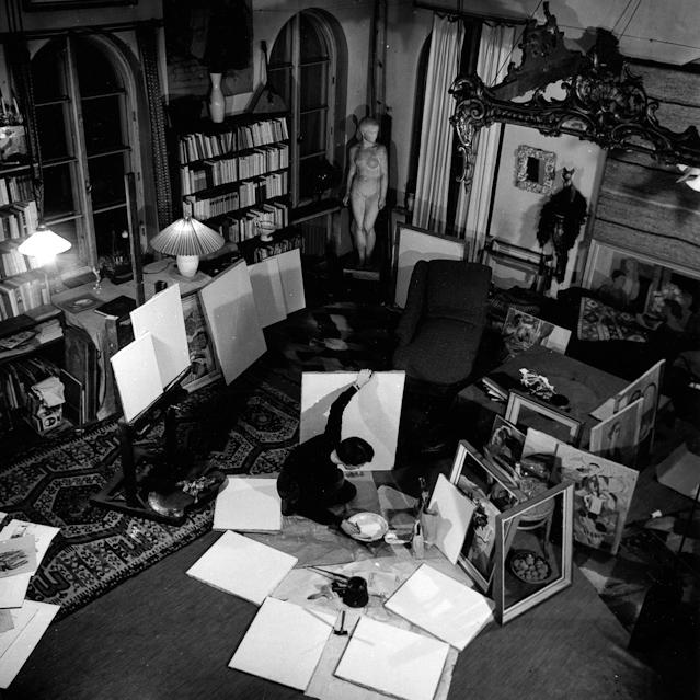 Ausstellung und Leben von Tove Jansson