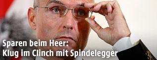 Verteidigungsminister Klug