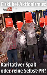 Ice Bucket Challenge auf YouTube