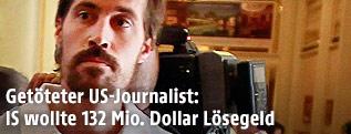 Archivaufnahme von James Foley