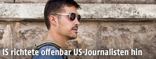 Archivbild des US-Pressefotografen James Foley