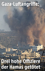 Rauchwolke über Gaza