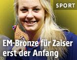 Lisa Zaiser (AUT) mit Bronzemedaille