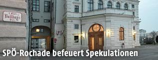 Die Präsidentschaftskanzlei in der Hofburg in Wien