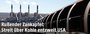 Kohlekraftwerk in den USA