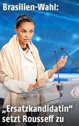 Präsidentschaftskandidatin Marina Silva