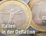 Italienische 1-Euro-Münze