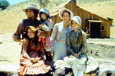"""Familie Ingalls in """"Unsere kleine Farm"""""""