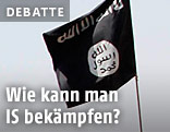 Fahne von IS