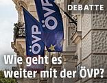 ÖVP-Fahnen
