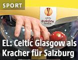 Auslosungskugeln der UEFA Europa League