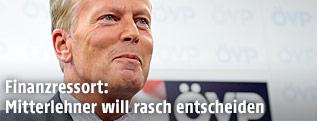 ÖVP-Chef Reinhold Mitterlehner