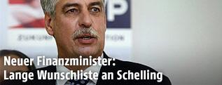 Designierter Finanzminister Jörg Schelling