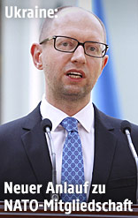 Ukraines Ministerpräsident Arseni Jazenjuk