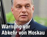 Der ungarische Premierminister Viktor Orban