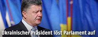 Ukraines Präsident Petro Poroschenko