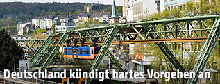 Ansicht der Stadt Wuppertal