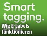 """Screenshot mit der Aufschrift """"Smart Tagging"""""""