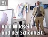 Der österreichische Künstler Arnulf Rainer