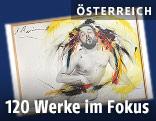 Arnulf Rainer: Müde Pose I, 1975