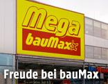 BauMax-Eingang