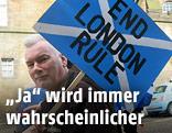Demonstration für Schottlands Unabhängigkeit