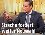 FPÖ-Chef Heinz-Christian Strache im ORF-Sommergespräch