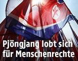 Nord-Korea-Flagge