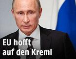 Der russische Staatschef Wladimir Putin