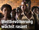 Schülerinnen in Bangui